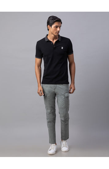 Spykar Green Cotton Slim Fit Jeans (Slim)