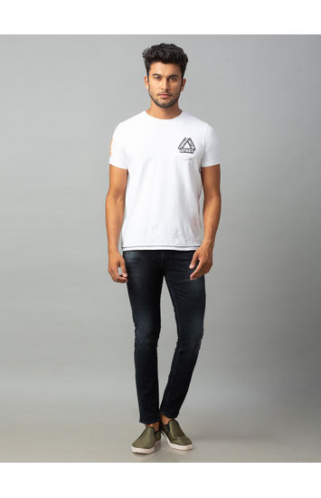 Spykar Black Cotton Low Rise Super Skinny Fit Jeans (Super Skinny)