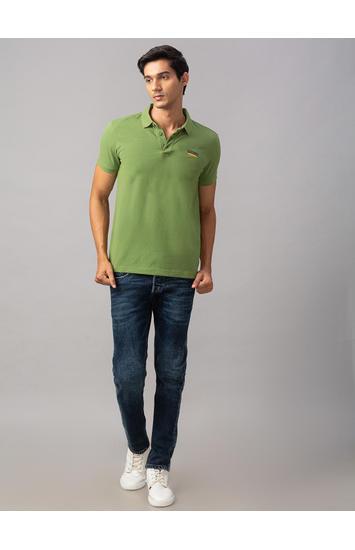 Spykar Blue Cotton Skinny Fit Jeans (Skinny)
