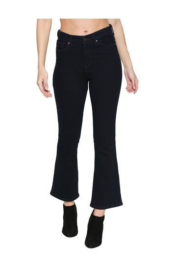 Spykar Blue Cotton Boyfriend Fit Jeans (Everett)