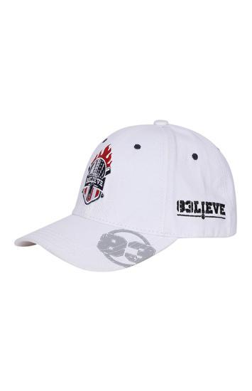 Spykar Cotton White Cap