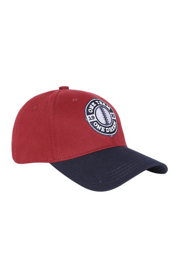 Spykar Cotton Maroon Cap