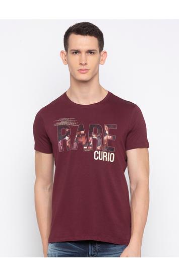 Wine Printed T-Shirt