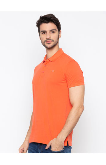 SPYKAR Coral Cotton Slim Fit T-SHIRTS
