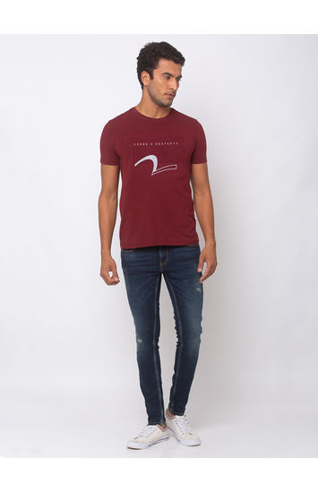 SPYKAR TINTED Cotton Super Skinny Fit JEANS