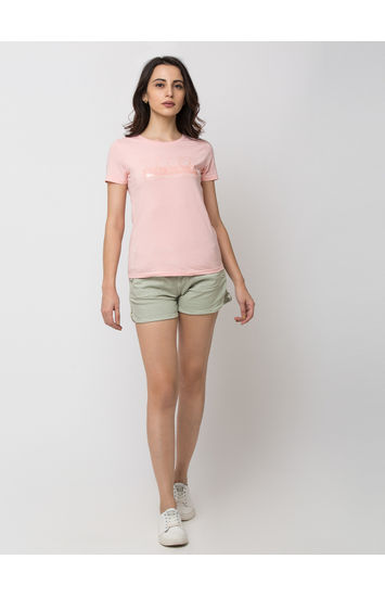 Mint Cotton Shorts