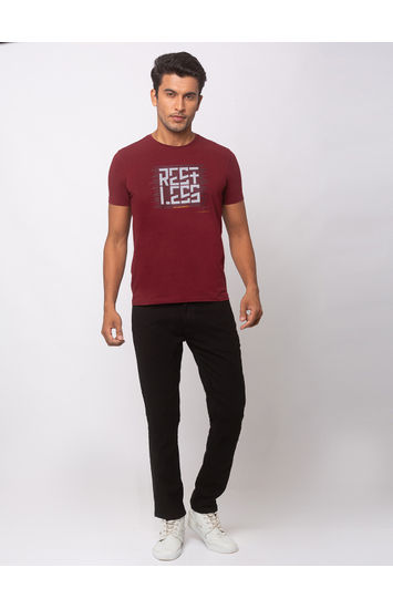 SPYKAR Black COTTON Super Skinny Fit JEANS