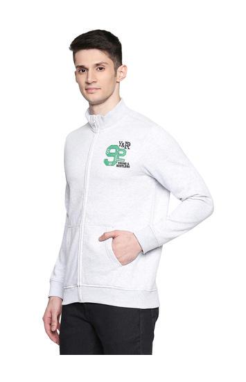 Spykar Cotton Blend Sweatshirts