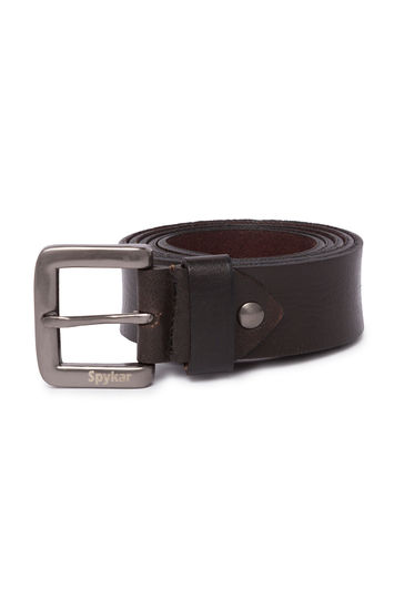 Spykar Brown Leather Belts