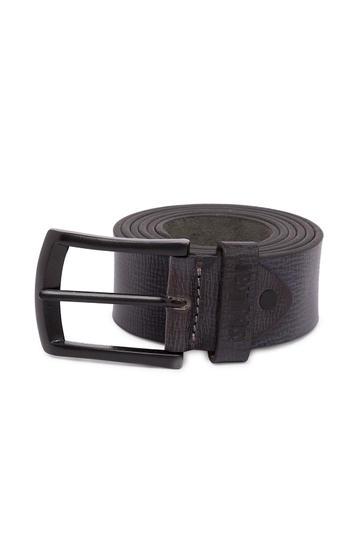 Spykar Black Leather Belts
