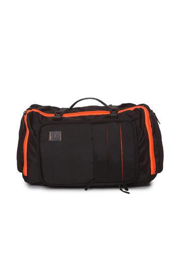 Spykar Black Traveler Multipurpose Backpack