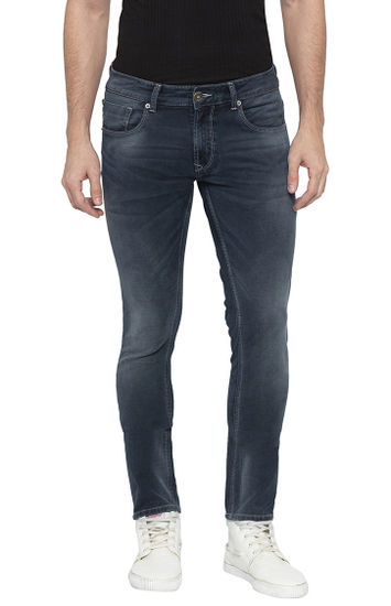 Dark Indigo Solid Super Skinny Fit Jeans