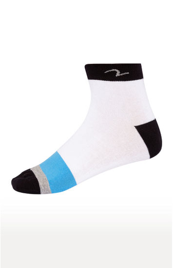 Blue and Green Socks - Pack of 2