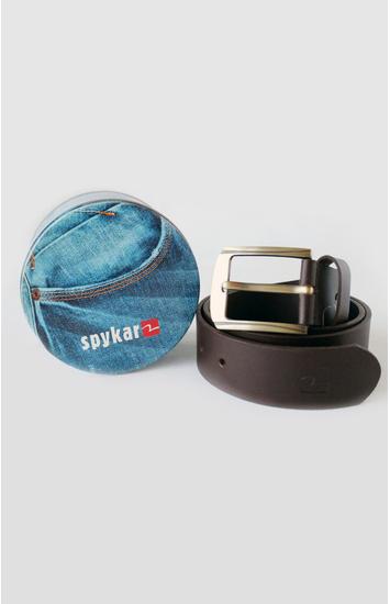 Wine Leather Belt