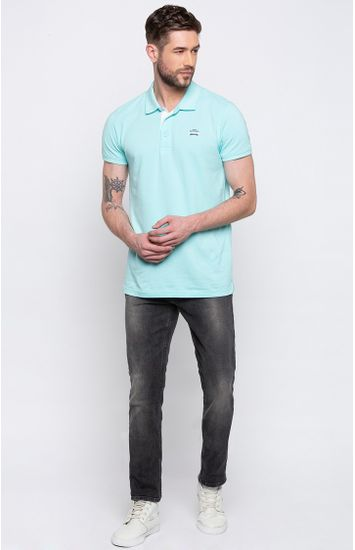 Raw Blue Solid Super Skinny Fit Jeans