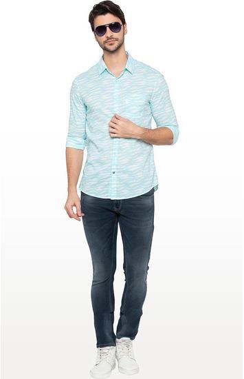 Dark Indigo Solid Regular Fit Jeans