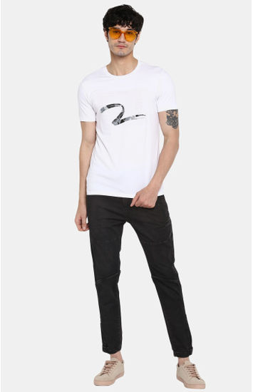 Navy Solid Skinny Fit Jeans