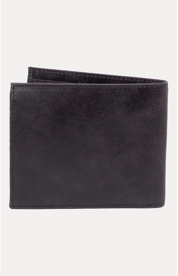 Black Leather Wallets