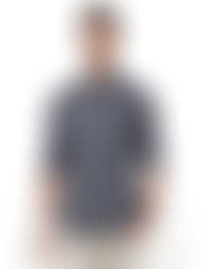 Black Checked Casual Shirt