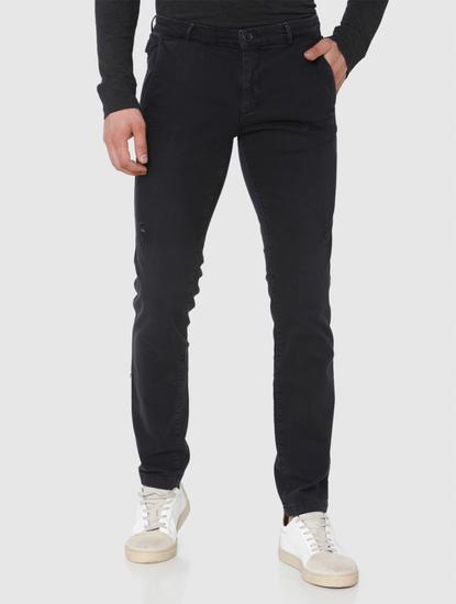 Black Leon Slim Fit Jeans