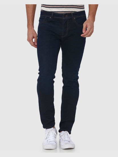 Dark Blue Leon Slim Fit Jeans