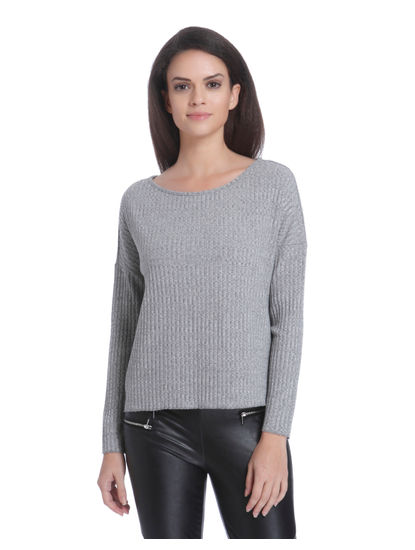 Light Grey Cropped Pullover