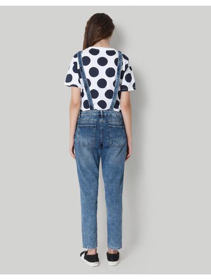 Blue Denim Overall Jumpsuit