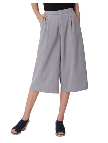 Light Grey Culottes