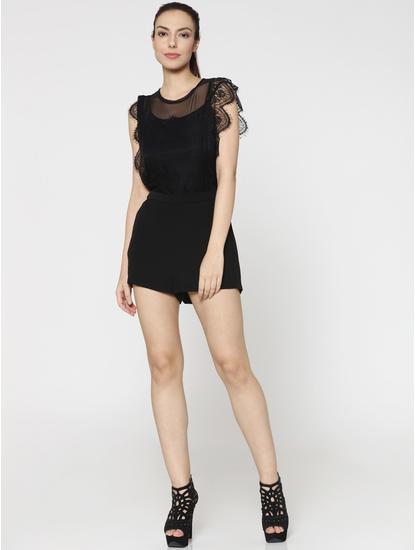 Black Lace Playsuit