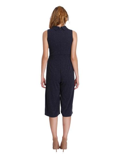 Dark Blue Shimmery Jumpsuit