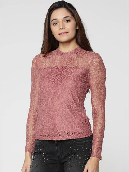 Rose Lace Top