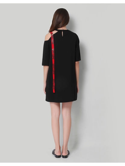 Black Short Shift Dress