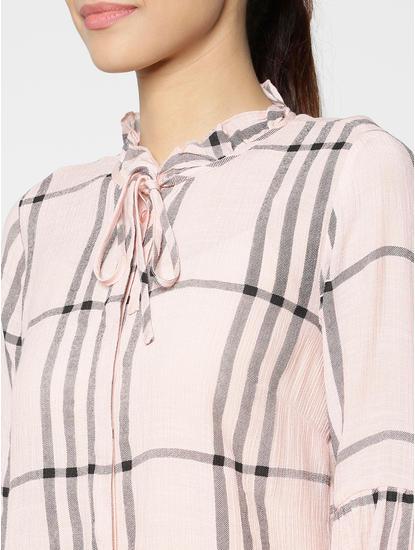 Pink Checks Shirt