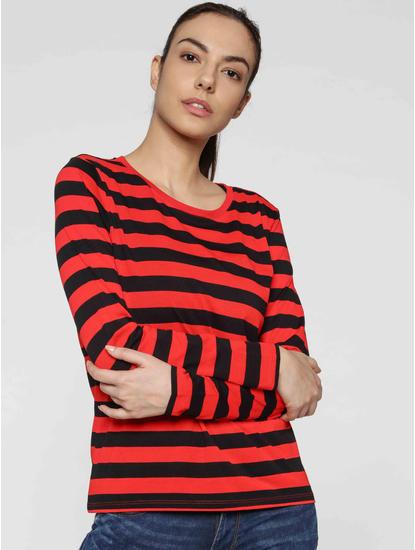 Black Striped T-Shirt