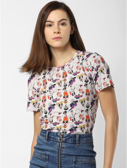 x The Powerpuff Girls All Over Print T-shirt