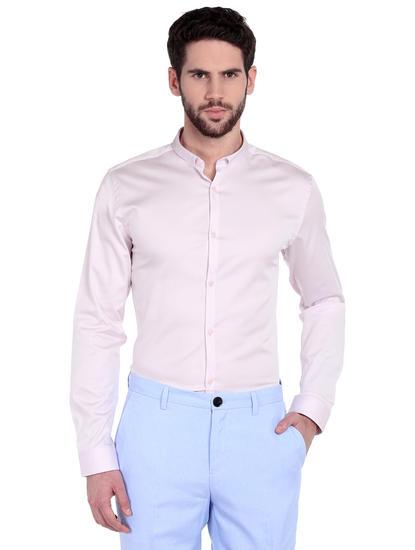 Light Purple Slim Fit Shirt