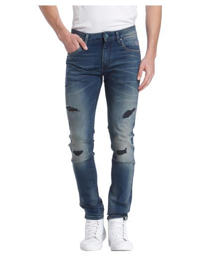 Heavy Distress Jeans