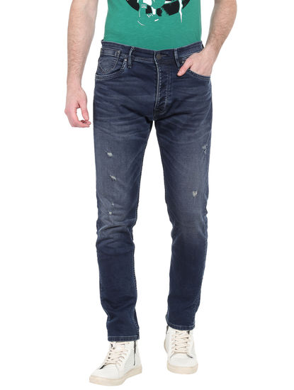 Dark Blue Anti Fit Jeans
