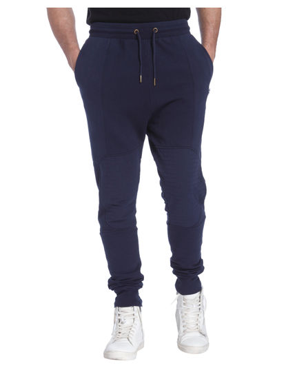 Dark Blue Biker Sweatpants
