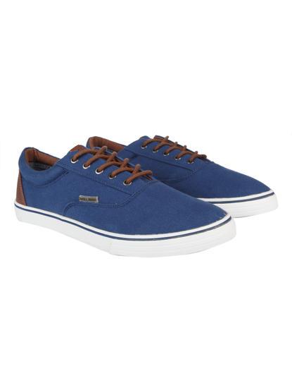 Blue & Brown Sneakers