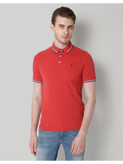 Rust Polo T-Shirt