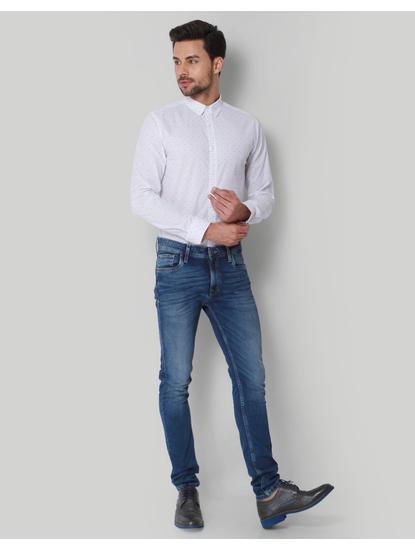 White Polka Dot Shirt