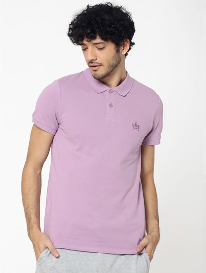 Light Purple Polo T-Shirt