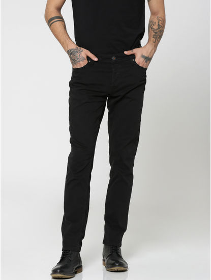 Black Glenn Slim Pants