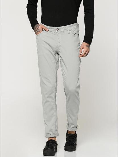 Grey Glenn Slim Fit Pants