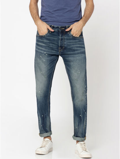 Dark Blue Erik Anti Fit Jeans