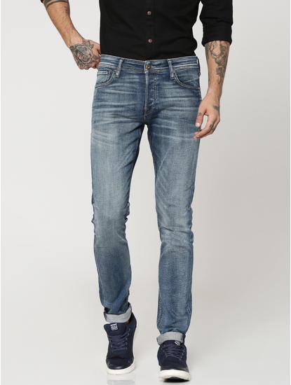 Dark Blue Glenn Slim Fit Jeans