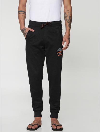 Black Drawstring Trackpants