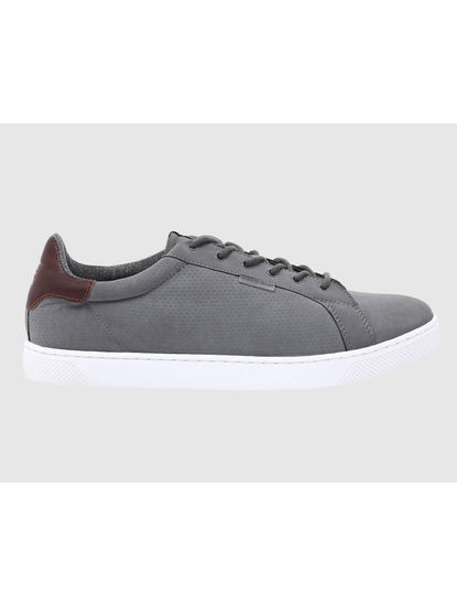 Grey PU Sneakers