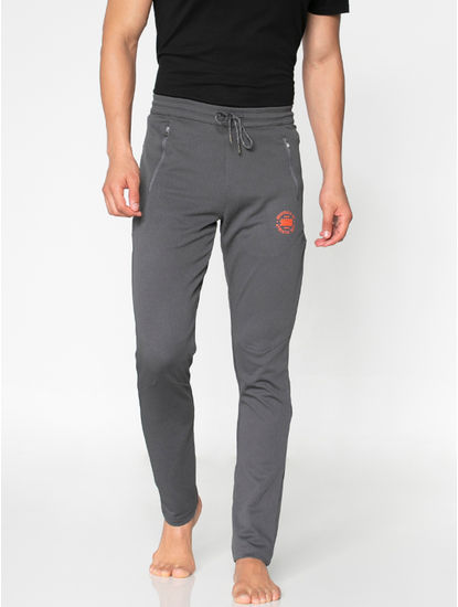 Grey Drawstring Trackpants